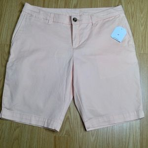 Faded Glory Shorts. Gorgeous peach colour. Cotton